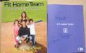 Jorge Posada Yankees signed Book Fit Home Team 1st Print BAS Beckett auto