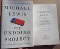 Michael Lewis Signed Book The Undoing Project 1st Print autographed