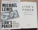 Michael Lewis Signed Book Liar's Poker 25th Anniversary Ed 1st Print auto