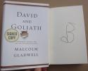 Malcolm Gladwell Signed Book David and Goliath 1st Print autographed