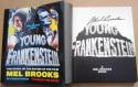 Mel Brooks signed book Young Frankenstein 1st Print autographed