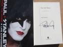 Paul Stanley KISS Signed Book Face the Music Beckett BAS Authentic