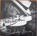 Buddy Guy signed LP Album Cover Born to Play Guitar BAS Beckett Authentic