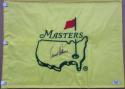 Arnold Palmer signed Undated Masters Golf Flag PSA/DNA