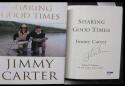 President Jimmy Carter signed book Sharing Good Times 1st Print PSA/DNA auto