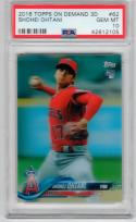 Shohei Ohtani Angels 2018 Topps On Demand 3D RC PSA 10 only 269 made