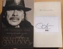 Carlos Santana Signed Autographed book The Universal Tone Guitar Legend