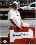 Junior Johnson NASCAR Legend signed 8x10 color Photo PSA/DNA auto