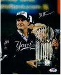 Hal Steinbrenner Yankees Owner signed 8x10 photo PSA/DNA autographed