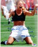 Brandi Chastain signed 8x10 photo PSA/DNA Soccer 1999 USA Womens World Cup Champ