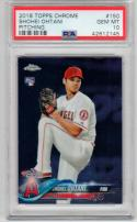 Shohei Ohtani 2018 Topps Chrome Pitching  PSA 10 Angels ROY