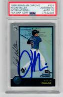 Kevin Millar signed 1998 Bowman Chrome International Rookie Card PSA/DNA 10 auto