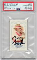 Bobby Bowden signed 2013 Topps Allen & Ginter Mini auto GR 10 PSA/DNA Florida State