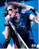 Steven Tyler Aerosmith signed 8x10 photo Beckett BAS Authentic auto