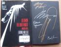 Batman The Dark Knight Master Race book signed by Frank Miller, Janson, Kubert, Anderson, Azzarello BAS  Authenticated