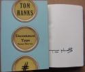 Tom Hanks signed book Uncommon Type: Some Stories 1st Print Publisher Edition