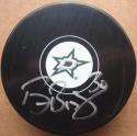 Ben Bishop signed Dallas Stars Hockey Puck Beckett BAS Authentic auto Goalie