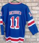 Mark Messier signed CCM Heroes of Hockey Rangers Jersey Beckett BAS Authentic auto