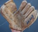 Bobby Shantz signed signature model Regent Baseball Glove Beckett BAS auto