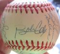 1992 Braves NL Champs team signed Baseball PSA/DNA 30 Auto Ball Cox Smoltz Glavine