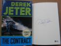 Derek Jeter Yankees signed Book The Contract 1st Print BAS Beckett auto