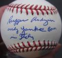 Rugger Ardizoia single signed Baseball PSA/DNA Only Yankee Born in Italy inscrip