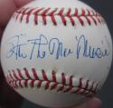 Stan Musial Cardinals single signed NL Baseball Ball PSA/DNA auto The Man inscription