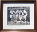 Mickey Mantle Stan Musial Joe Garagiola Yogi Berra signed 8x10 photo Beckett BAS