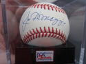 Joe DiMaggio single signed Official AL Baseball Ball PSA/DNA Graded MINT 9