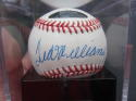 Ted Williams single signed Official AL Baseball Ball PSA/DNA Graded MINT 9
