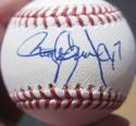 Roger Clemens Cy 7 single signed MLB Baseball Ball Beckett BAS auto Yankees Red Sox Astros