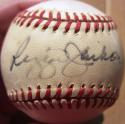 Reggie Jackson VINTAGE single signed AL Baseball Ball PSA/DNA auto Yankees A's