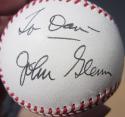 John Glenn Astronaut Senator signed NL Baseball Ball PSA/DNA auto inscribed To Dan