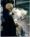 Willie Davis Packers signed 8x10 Photo PSA/DNA auto HOF 81 Inscription