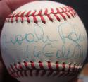 Brooks Robinson single signed AL Baseball Ball Beckett BAS auto 16 Gold Gloves inscription