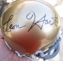 Leon Hart signed Notre Dame Mini Helmet JSA COA Heisman Trophy Winner auto