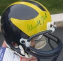 President Gerald Ford Signed Michigan Football Mini Helmet signed PSA/DNA auto