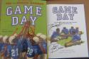 Tiki Rhonde Barber 2x Signed Book Game Day 1st Print Buccaneers Giants