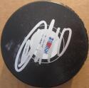 Artemi Panarin signed Rangers Hockey Puck Beckett BAS Authentic auto