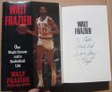 Walt Frazier signed Book One Magic Season and a Basketball Life inscribed to Eddie