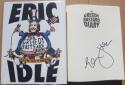 Eric Idle Monty Python signed Book Greedy Bastard Diary 1st Print Beckett BAS auto