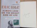 Eric Idle Monty Python signed Book Always Look on the Bright Side of Life 1st Print Beckett BAS auto