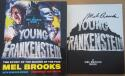Mel Brooks signed book Young Frankenstein 1st Print Beckett BAS auto