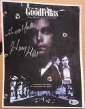 Henry Hill signed 8.5x11 Goodfellas Movie Script PSA/DNA d 12 Goodfella inscription