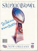 Bill Belichick Patriots signed Super Bowl XXXVI 36 Program PSA/DNA w/ inscription