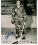 Bill Cleary 1960 USA Hockey Gold Medal Winner signed 8x10 Photo Beckett BAS #2