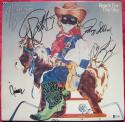 Allman Brothers 4x signed LP Album Reach for the Sky Beckett BAS Gregg Allman Butch Trucks Dickey Betts Jaimoe