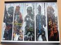 Star Wars 5x signed Bounty Hunters 16x20 photo Beckett BAS Jeremy Bulloch Alan Harris Boba Fett Bossk IG-88 4-Lom Zuckus