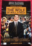 Jordan Belfort Signed 12x18 Mini Wolf of Wall Street Movie Poster Beckett BAS auto