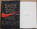 Phil Knight Nike Founder signed book Shoe Dog 1st Print Beckett BAS Authentic auto